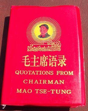 Mao zedong little red book