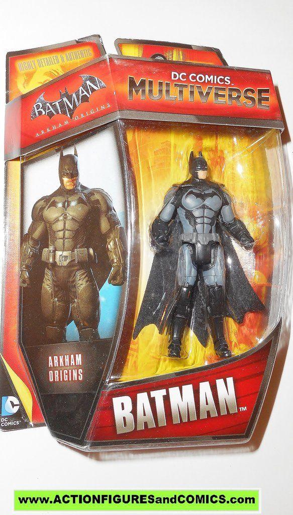 dc universe Multiverse BATMAN Arkham Origins infinite heroes crisis mattel toys action figures video game moc mip mib