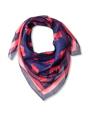 61% OFF Terracotta New York Women's The Ettie Elephant Scarf, Coral
