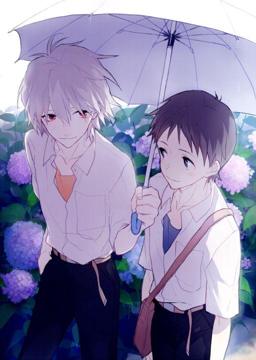 Kaworu x Shinji (Evang...
