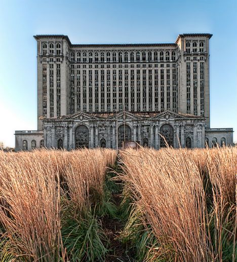 Abandoned Wonders of Commercial and Industrial Architecture: Michigan Grand Terminal, Detroit, MI.