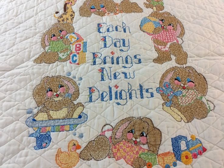 21 Best Cross Stitch Crib Kits I Ve Completed Images On