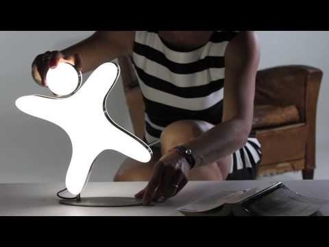 HELLO! Luminaire d'ambiance à LED. Vidéo de présentation. - See more at: http://www.designbyjfgemmrich.com/content/fr/produits/luminaire-lampe-led-hello.htm#sthash.fetp2V0q.dpuf