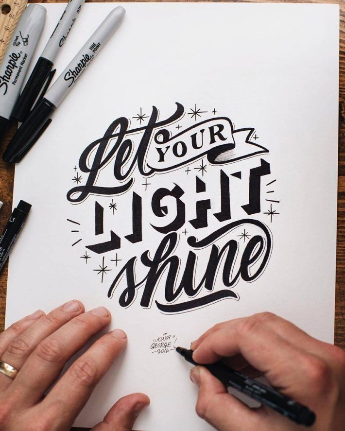 Outstanding Lettering And Typography Designs For Inspiration Lettering Lettering Design Creative Lettering
