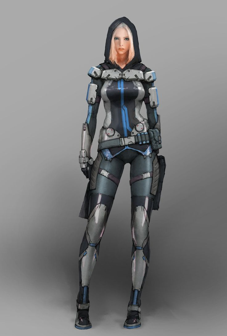sf Future Soldier concept art painted in 2012 저작권은 NS Studio에 있습니다