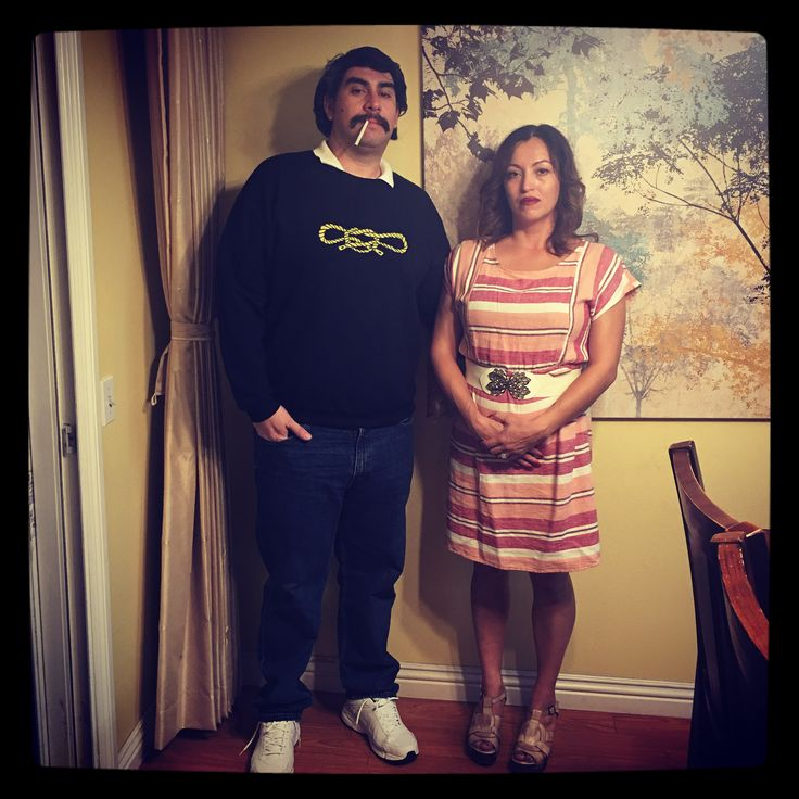 Pablo Escobar & Tata from Narcos costume #Halloween2016
