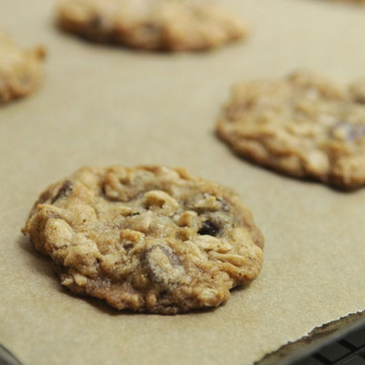 Crispy Oatmeal Chocolate Chip Cookies Recipe on Food52 recipe on Food52