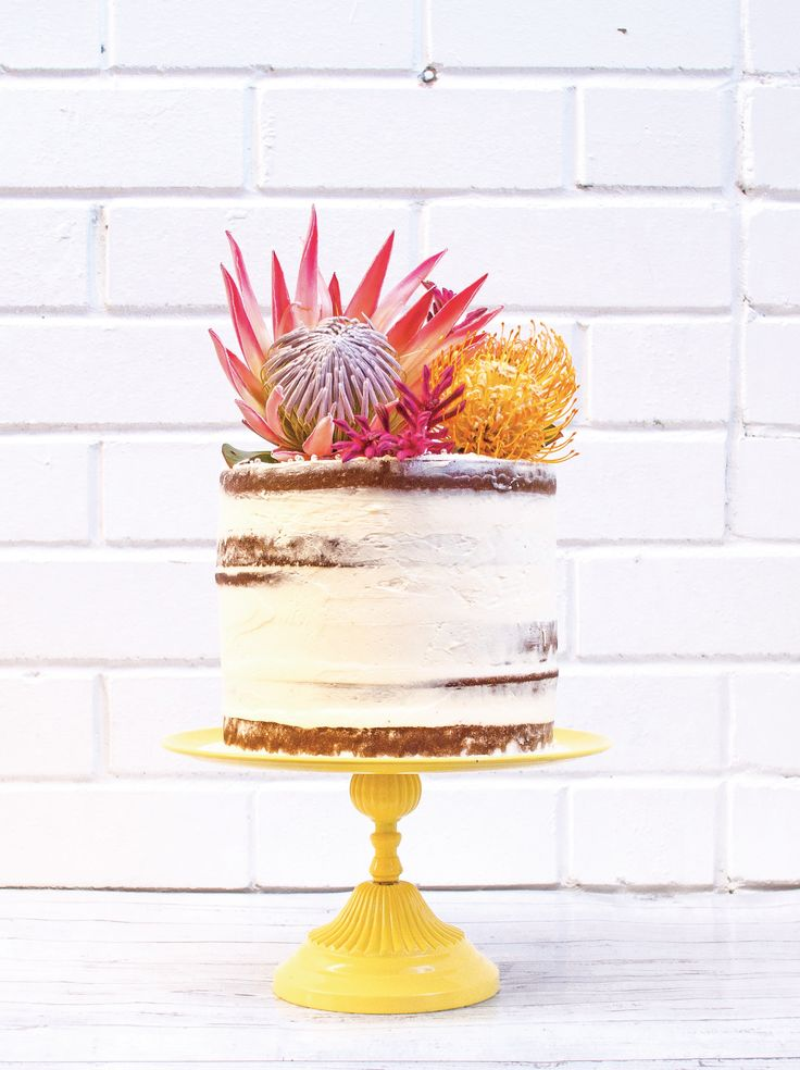 Vanilla Bean Layer Cake With Buttercream
