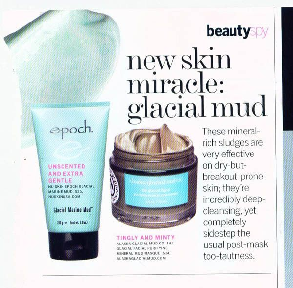 Galcial marine Mud- linea Nu Skin Epoch - mask viso anti-impurità
