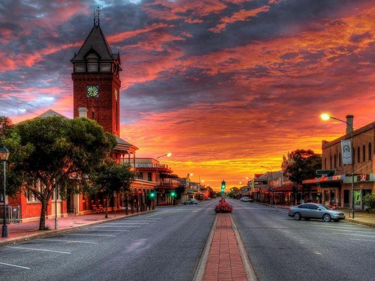 Broken Hill, Australia. -