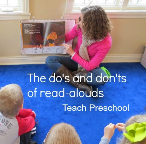 Dos and Donts of Read-Alouds by Teach Preschool