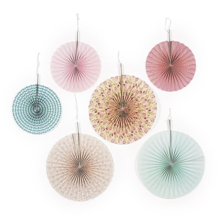 Vintage Collection Hanging Fans (6 pc) *** You can get more details by clicking on the image.