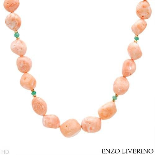 ENZO LIVERINO 18K Yellow Gold 1.8 CTW Emerald « Holiday Adds