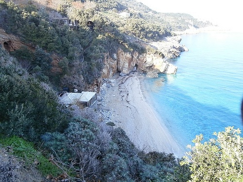 the beach of Mylopotamos - Pilion