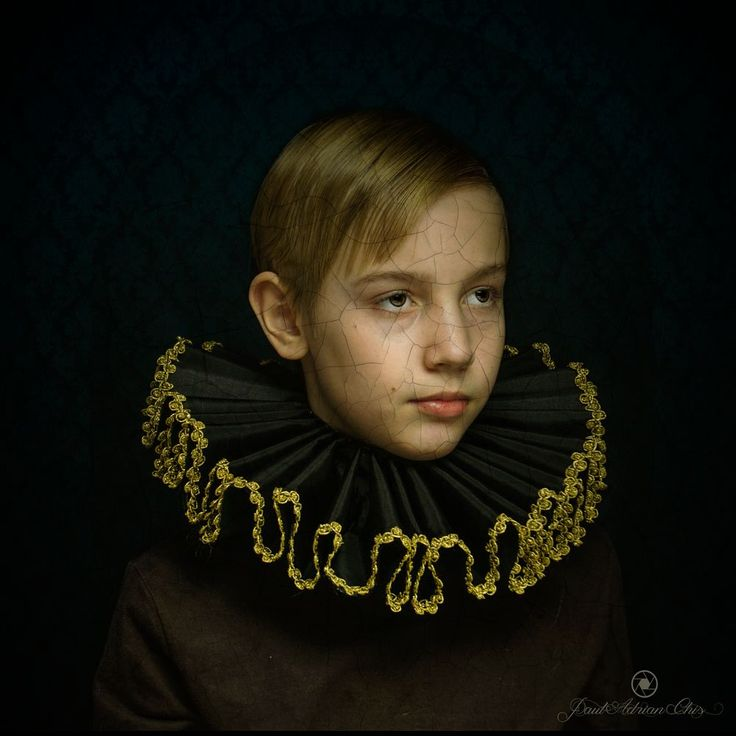 Portrait of a young boy by Paul Adrian Chis