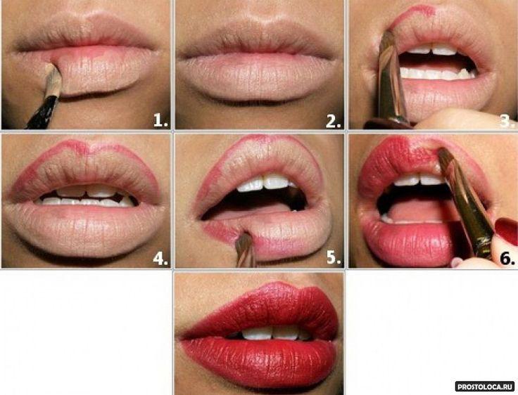 макияж некрасивой формы губ: 14 тыс изображений найдено в Яндекс.Картинках