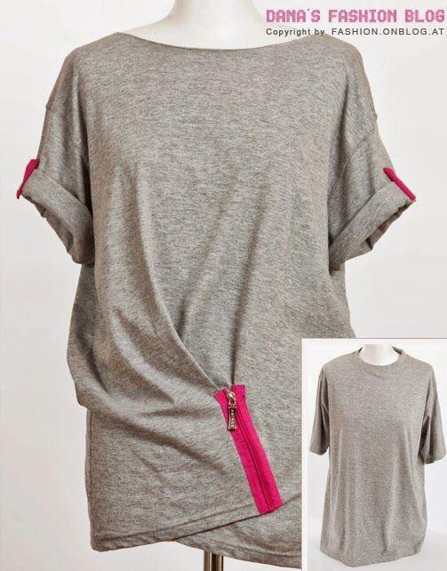 Foto de Hautelook.com Fíjate de qué forma tan simple podemos transformar una camiseta de talla grande en una prenda diferente y con estilo propio. No hace falta un tutorial para explicar esta idea, basta con ponerse delante del espejo, coger dos pliegues desiguales donde más nos guste y sujetarlos con unas puntadas, unos botones, corchetes, ... Seguir leyendo...