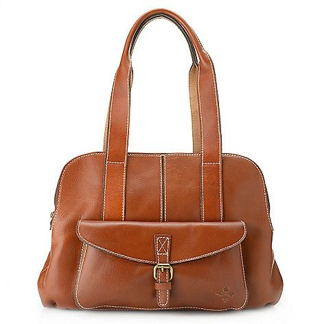 Patricia Nash Quot Athens Quot Leather Triple Compartment Tote Bag