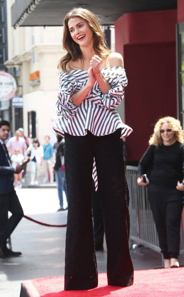 Keri Russell from The Big Picture: Today's Hot Photos  All smiles! The actress is seen grinning from ear to ear during her ceremony at The Hollywood Walk of Fame.