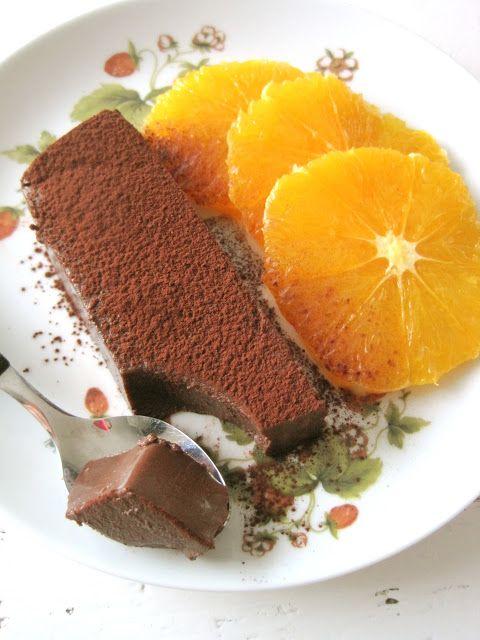 Pudim de Chocolate com Avelãs