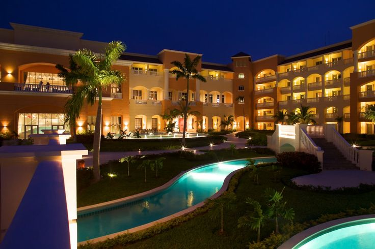 The resort property.  To book your stay at the Iberostar Rose Hall Resort, speak to one of our Vacation Specialists at 1-888-685-6888 or read our blog for more: http://ow.ly/EH7q1.