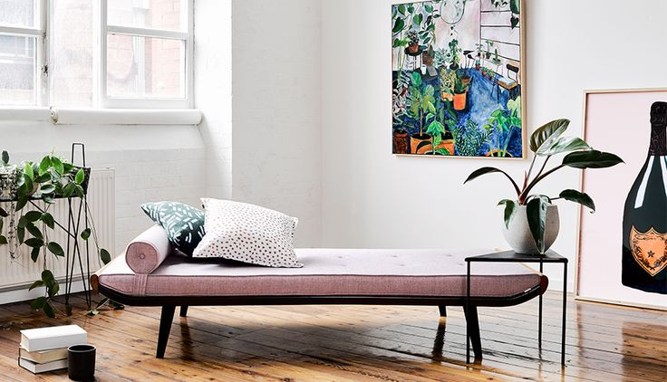 Cleopatra Day Bed designed by Andre Cordemeijer for Auping, Netherlands in 1953.