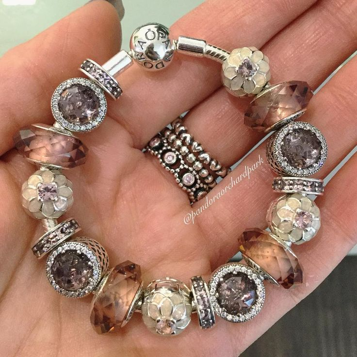 how to open a pandora bracelet to add charms