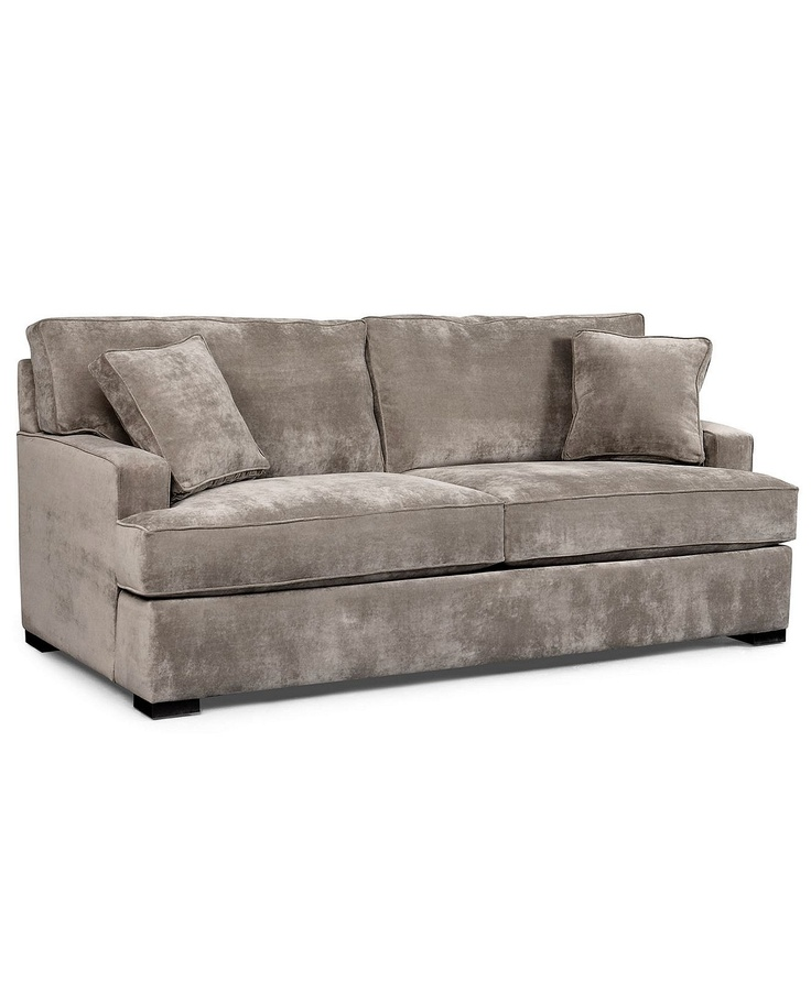 Paige Sofa, $699, Macys: Paige Fabrics, Microfiber Sofas, Living Rooms, Fabrics Microfiber, Paige Sofas, Studios Couch,  Day Beds, Sofas Online, Macys