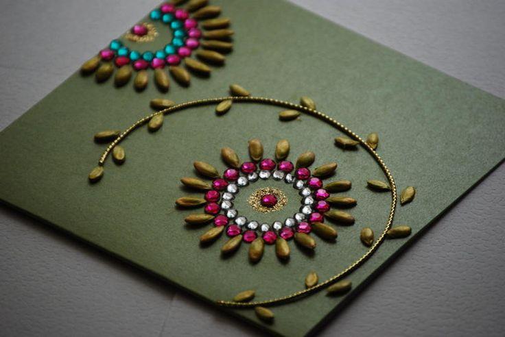 Handmade invitation cards