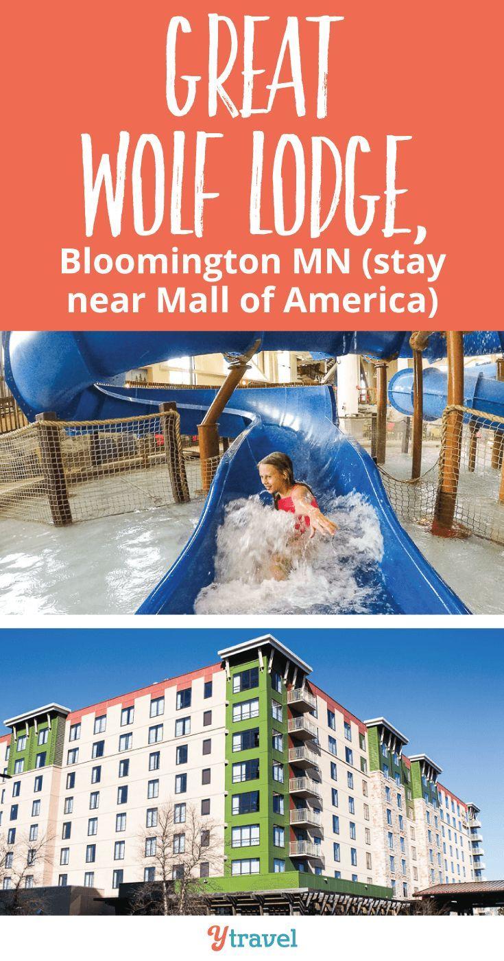 Great Wolf Lodge Minnesota A Fun Hotel Near Mall Of America Great Wolf Lodge Mall Of America Hotels For Kids