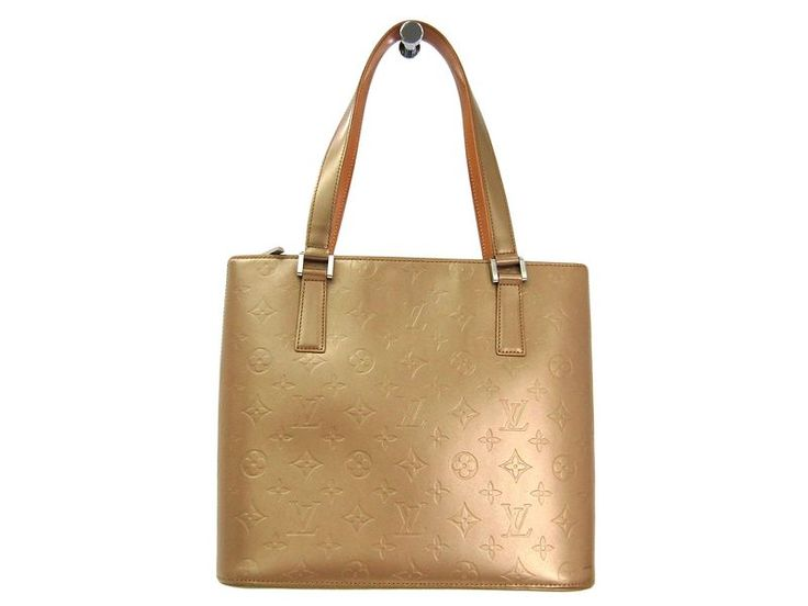 LOUIS #VUITTON Stockton Shoulder Bag Monogram Mat Ambre M55117 (BF303606) All of #eLADY's items are inspected carefully by expert authenticators who have years of experience. For more pre-owned luxury brand items, visit http://global.elady.com
