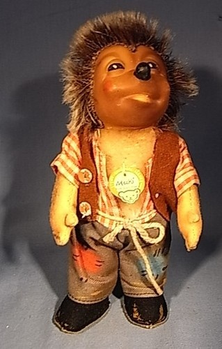 I have had several of this growing up | MJJ2 * BEAUTIFUL STEIFF MECKI HEDGEHOG FIGURE ANTIQUE GERMAN 1950 | eBay