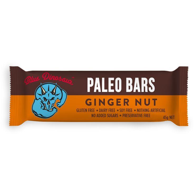 Ginger Nut #paleobars #glutenfree #soyfree #dairyfree #veganfood #superfood #nutbar #organicfood