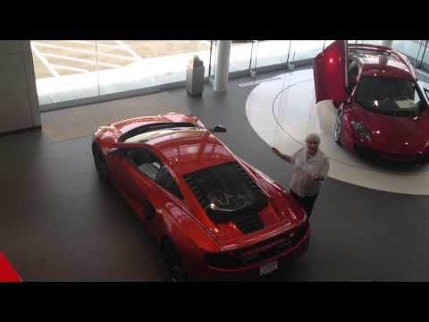 Clients Reaction to Delivery of her McLaren MP4-12C at McLaren Greenwich/Miller Motorcars, CT, USA - YouTube