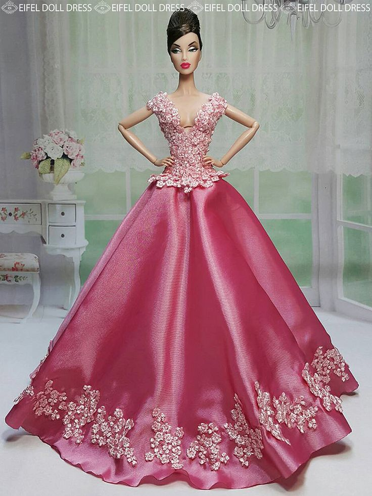 412 best images about barbies on pinterest birthday for Barbie wedding dresses for sale