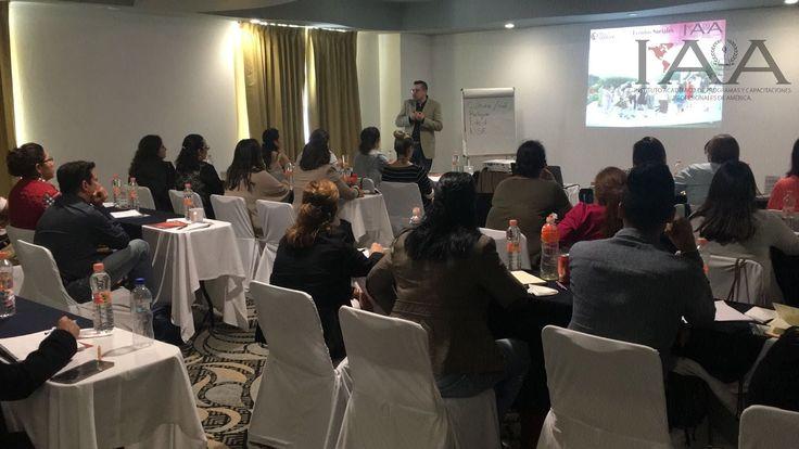Sesionando curso de Organizacion de Eventos en Queretaro!