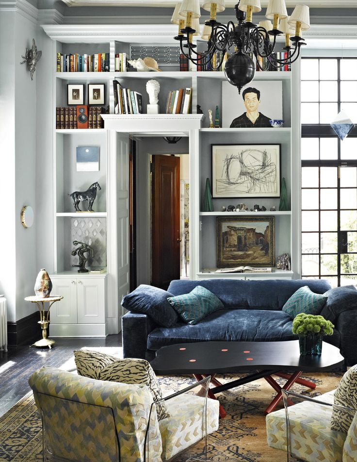 Room of the Week :: An Eclectic Formal Living Room