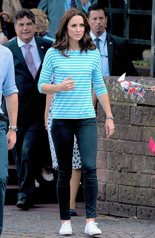 """thecambridgees:  """"""""Catherine, Duchess of Cambridge participates in a rowing race between the twinned town of Cambridge and Heidelberg and against Prince William, Duke of Cambridge on day 2 of their official visit to Germany on July 20, 2017 in..."""