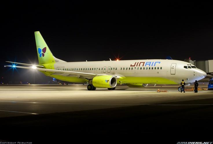 Our Aircraft - Boeing 737-800 :-)  #jinair #JinAir #Boeing737-800