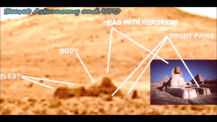 Sphinx And Pyramid Twin Peaks On Mars? Pathfinder Landing Site, A Sphinx...