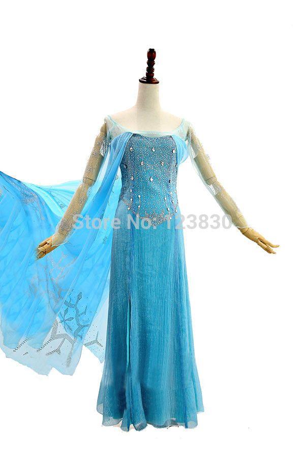 Эльза костюм девушки снежная королева замороженные костюм принцесса эльза косплей хэллоуин костюмы для детей фантазии детей карнавальные костюмы на заказ