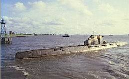 Construction of U-2540 began on 28/29 October 1944 by Blohm & Voss in Hamburg-Finkenwerder. She was launched on 13 January 1945. She was scuttled near the Flensburg lightship on 4 May 1945. n June 1957, after more than 12 years on the floor of the Baltic Sea, U-2540 was raised and overhauled at Howaldtswerke, Kiel. The submarine was commissioned as a research vessel in the Bundesmarine, serving from 1 September 1960 until 28 August 1968