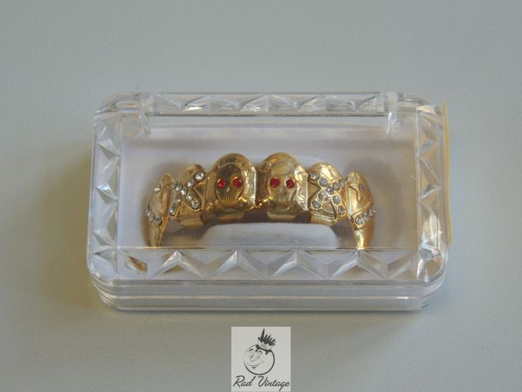 Real Grillz for Teeth | fnags adult size unisex not real gold not real diamonds comes with ...