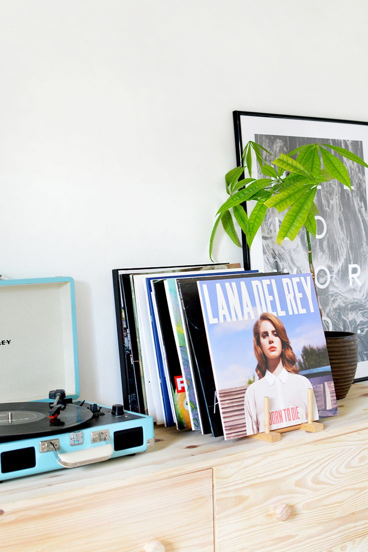 diy tutorial vinyl record storage