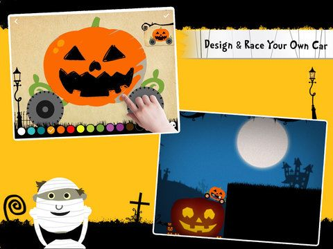 Labo Halloween Car - Design & Race Your Own Halloween Cars