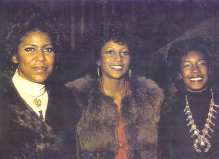 Jean Terrell, Lynda Lawrence & Mary Wilson the short lived '73 Supreme line-up.