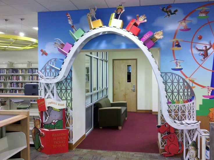 Cliffside Free Public Library in Cliffside Park, NJ (Photo from cliffsidepark.bccls.org) | 10 Magical Children's Libraries | Reading Rainbow Blog