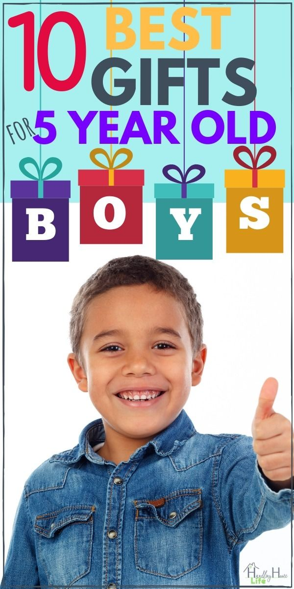 Best Gifts For 5 Year Old Boys These Kids Gift Ideas Are Great Christmas Or Birthday Presents Handlinghomelife Giftideas Giftguide