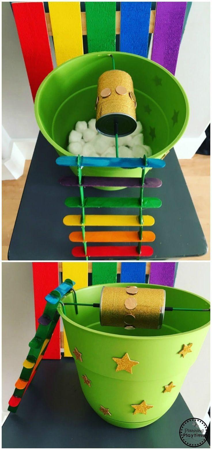 Fun Leprechaun Trap Idea for kids.