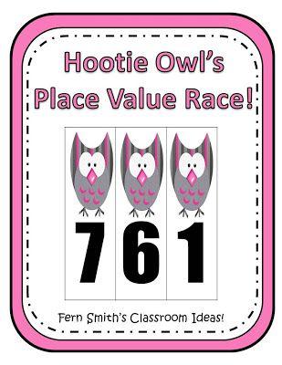 discount cheap nike Ferns Freebie Friday   Hootie Owls Hundreds Place Value Race  Common Core Standards For Place Value 1 NBT 2   1 NTB 3 2 NBT 1   2 NBT 3 and 2 NBT 4 3 NBT 2  0  By www FernSmithsClassroomIdeas com
